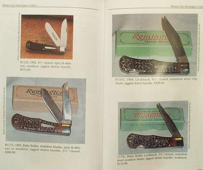 Argus : Remington Knives Past & Present - Value guide