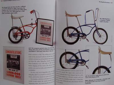 17e4ff648e2 More than 350 stunning full-color photos document Schwinn bikes from the  best vintage models, to today's latest releases, including the new  chopper-style ...