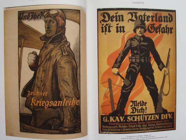 livre neuf images de propagande 1914 18 affiche poster allemagne france ebay. Black Bedroom Furniture Sets. Home Design Ideas