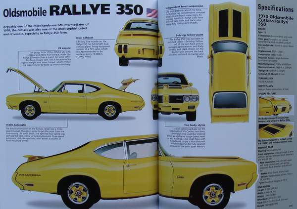 Muscle Cars Book For Sale - Vintage Car Parts