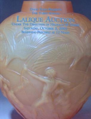 Lalique Auction Catalog - October 5, 2002