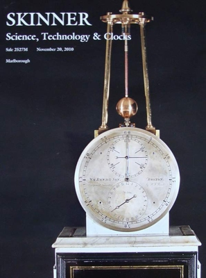 Auction Catalog - Science, Technology & Clocks - 11/20/2010