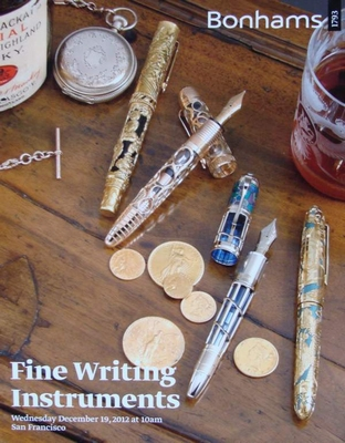 Auction Catalog - Fine Writing Instruments - December, 2012