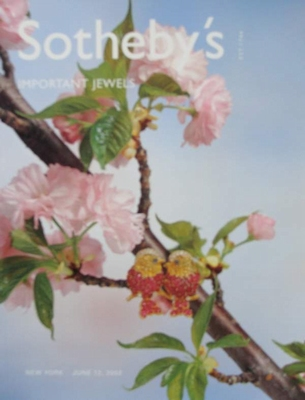 Sotheby's Auction Catalog - Important Jewels