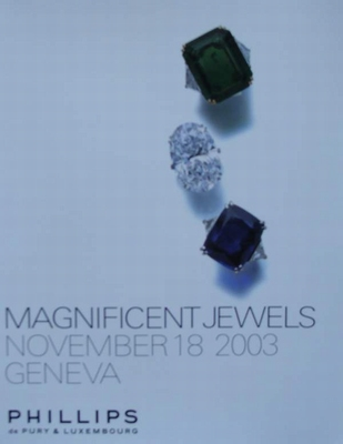 Phillips Auction Catalog - Magnificent Jewels