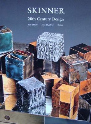 Skinner Auction Catalog - 20th Century Design