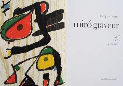 Miro Graveur - Volume III - 1973-1975