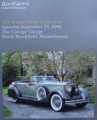 Bonhams & Butterfields - The Frank Cooks Collection