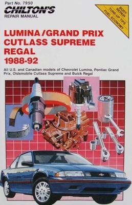 Lumina, Grand Prix, Cutlass Supreme, Regal 1988-92