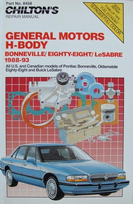 General Motors H-Body - Bonneville, Eighty-Eight, LeSabre