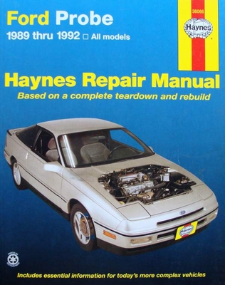 Haynes Repair Manual : Ford Probe 1989 Thru 1992 All Models