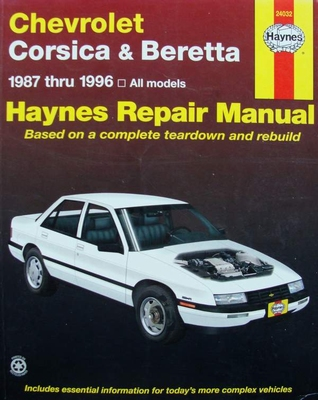 Haynes Repair Manual : Chevrolet Corsica & Beretta 1987-96
