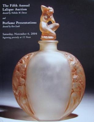 Auction Catalog - Lalique & Perfume Presentations