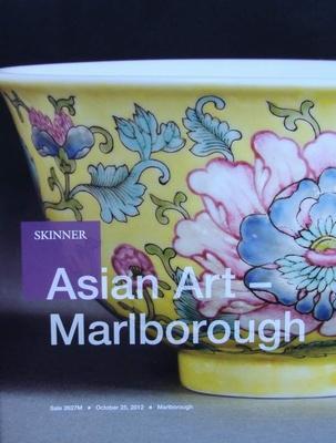 Skinner Auction Catalog - Asian Art - October 25, 2012