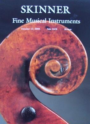 Skinner Auction Catalog - Fine Musical Instruments - 2008