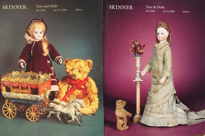 2 Skinner Auction Catalogs - Toys and Dolls
