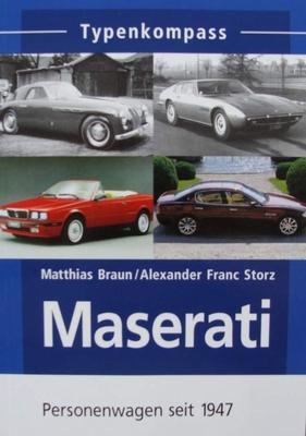Maserati - Personenwagen seit 1947