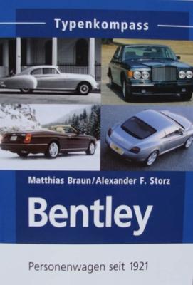 Bentley - Personenwagen seit 1921