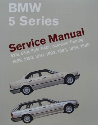BMW 5 Series Service Manual (E34) 525i, 530i, 535i, 540i