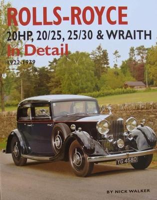 Rolls-Royce 20HP,20/25, 25/30 & Wraith In Detail