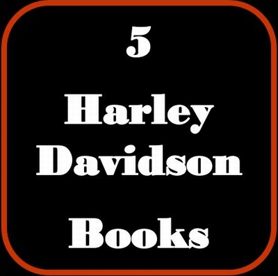 Paquet Promotion - 5 Livres - Harley Davidson