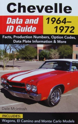 Chevelle Data and ID Guide - 1964-1972
