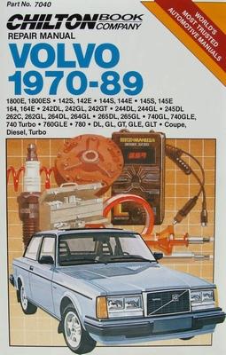 Chilton's Repair Manual - Volvo, 1970-89