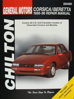 Chilton's Repair Manual - Chevrolet Corsica and Beretta