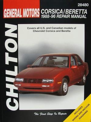 Chilton's Repair Manual - Chevrolet Corsica and Beretta