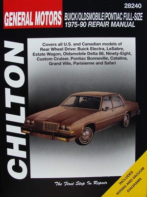 Manual - Buick - Oldsmobile - Pontiac 1975-90 - Full-Size