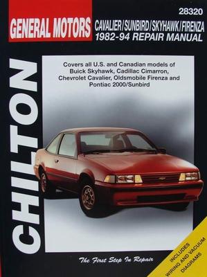 Manual - Cavalier - Sunbird - Skyhawk - Firenza 1982-94