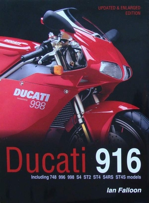 Ducati 916  Including 748, 996, 998, S4,ST2, ST4, S4RS, ST4S