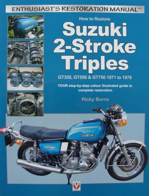 How to Restore Suzuki 2-Stroke Triples GT350, GT550 & GT750
