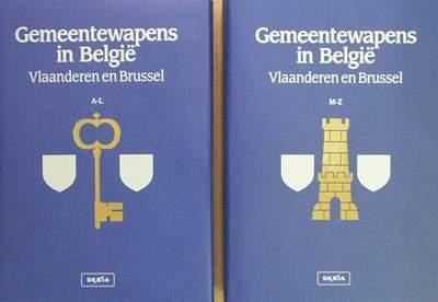 Gemeentewapens in België 2 volumes