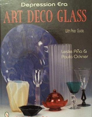 Depression era art deco glass