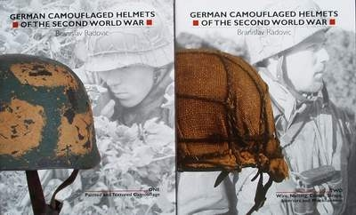 German Camouflaged Helmets of the Second World War - 2 Volum