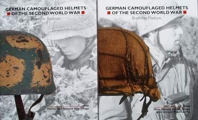 German Camouflaged Helmets of the Second World War - 2 Volum
