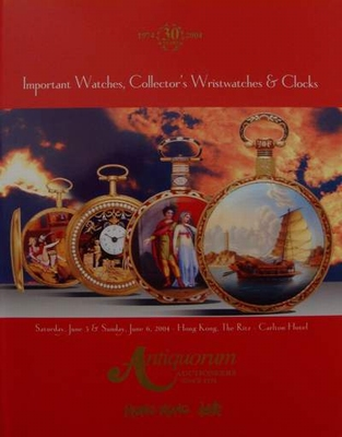 Auction Catalog Watches,Wristwatches & Clocks