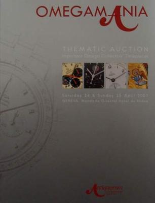 "Auction Catalog ""Omegamania"" Omega Watches"