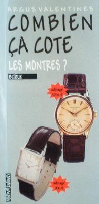 Combien ca cote: Les montres