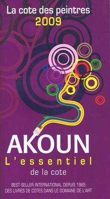 Akoun - La cote des peintres 2009