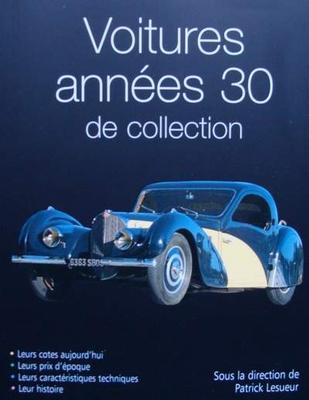 Voitures années 30 de collection