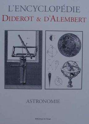 L'encyclopédie Diderot & d'Alembert - ASTRONOMIE