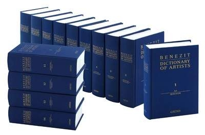 Benezit Dictionary of Artists - 2006 - 14 volumes (bénézit)