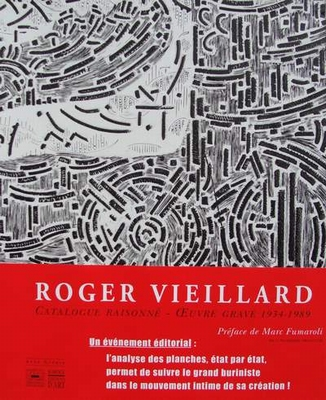 Roger Vieillard - Catalogue Raisonné oeuvre gravé 1934-1989
