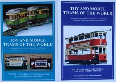 Toy and Model Trams of the World  - 2 Volumes