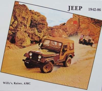 Jeep - Willy's, Kaiser, AMC 1942-1986