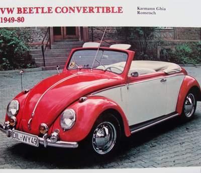 VW Beetle Convertible - Karmann Ghia - Rometsch 1949-1980