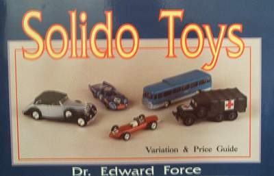 Solido toys with price guide