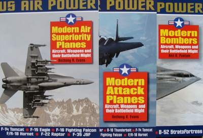 US Air Power - 3 Volumes